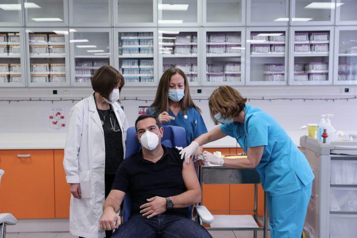 Α.Τσίπρας: Πρωτοφανής η ανεπάρκεια του λεγόμενου επιτελικού κράτους στην υπόθεση του εμβολιασμού