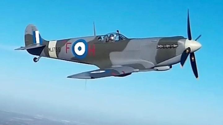 Επιστρέφει στην Ελλάδα το Σπιτφάιρ MJ755, θρυλικό αεροσκάφος του Β' Παγκοσμίου Πολέμου